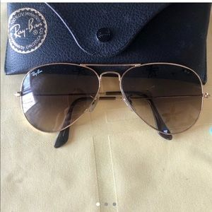 Ombré brown ray bans